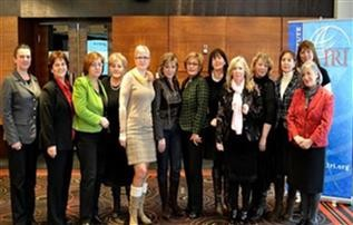 Members of the Federation of BiH Women's Caucus, the first ever women's caucus in the Balkans.
