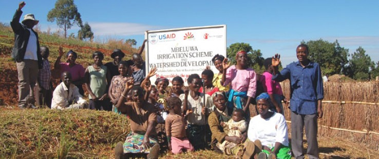 The people of Mbeluwa are proud of their joint efforts to increase their nutrition and food security.
