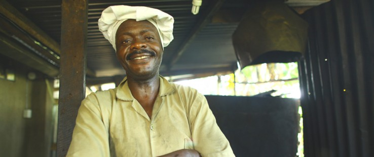 In Uganda, a USAID guarantee enabled an entrepreneur to receive a loan large enough to expand his business.