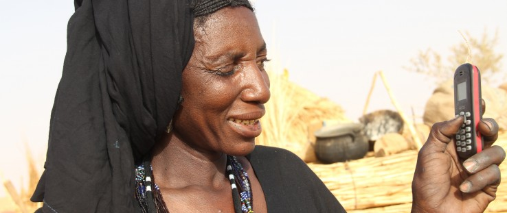 Niima Halilou, 44, of Tahoua, Niger, used the cash transfer program during five months in 2011 to buy food and other necessary
