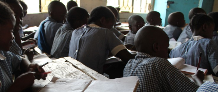 At school, we found that students often learn in dark classrooms and struggle to read their books.