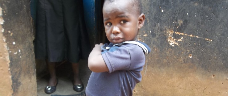 Chikondi Damiano, now 2 years old, was protected from mother-to-child transmission of HIV.