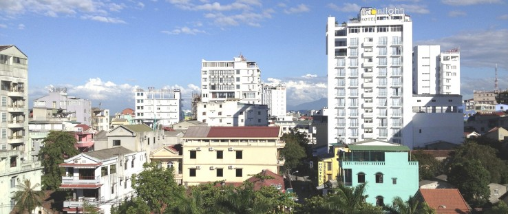 Southern downtown section of Hue