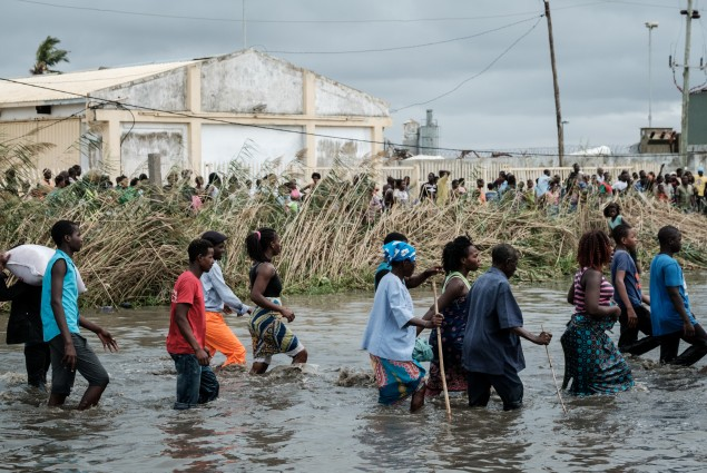 Five days after tropical cyclone Idai cut a swathe through Mozambique, Zimbabwe and Malawi, the confirmed death toll stood at more than 300 and hundreds of thousands of lives were at risk, officials said. Photo by Yasuyoshi CHIBA / AFP