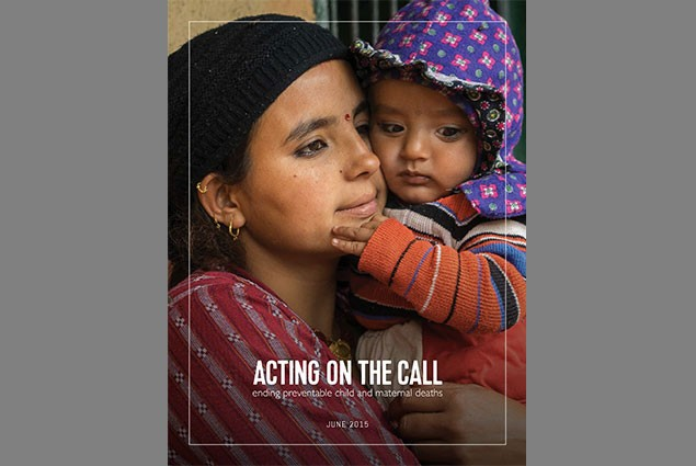 Cover for Acting on the Call Report 2015