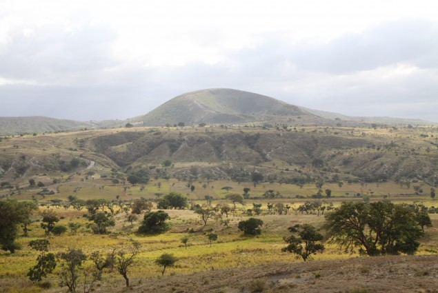 The Corbetti Caldera in Ethiopia