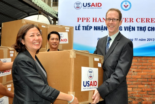 USAID Donates Personal Protective Equipment to Vietnam's Ministry of Agriculture and Rural Development (MARD)