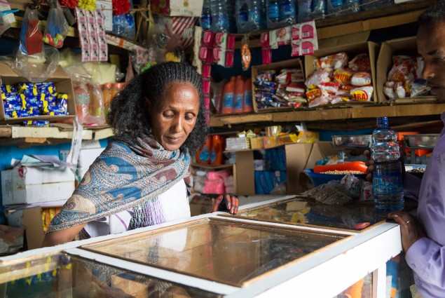 Just four years ago, Hilifti Abraha was working day and night but still couldn't earn enough to support herself and her five children. Today, thanks to USAID's Graduation with Resilience to Achieve Sustainable Development activity, she is a thriving shop owner who knows what it takes  to succeed.