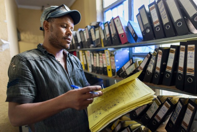 The value of a loan. Hailu Tekola is the manager of the Alamata branch of Dedebit Microfinance. His branch has loaned more money to households than any other branch in USAID's project woredas (districts) in Tigray.