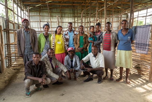 Leveraging the power of small farmers. Members of the Rohobot Shoat Fattening and Marketing Cooperative. Started in 2013, the coop's 50 members are working together to take advantage of the ever-increasing demand for sheep and goats (shoats) in the local and export markets.