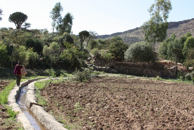 Community-built Irrigation Canal
