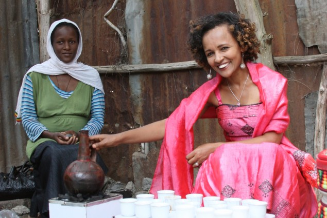 Ubiquitous Ethiopian Coffee Ceremony
