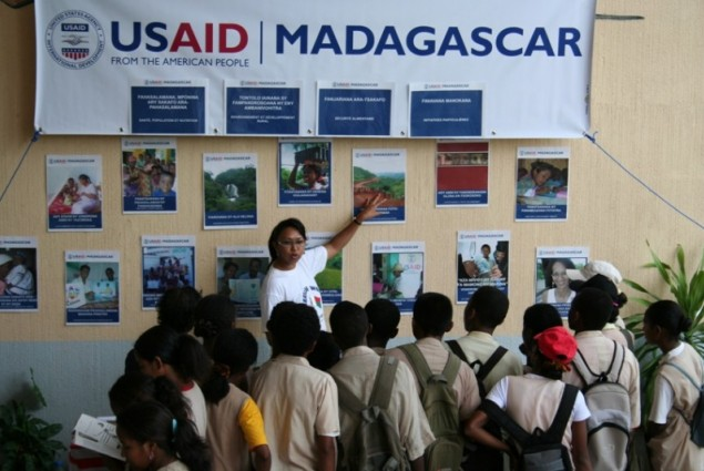 American Week USAID booth