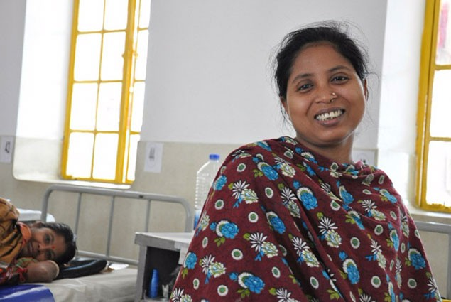 Chandana is 30 years old and has had fistula for 15 years.
