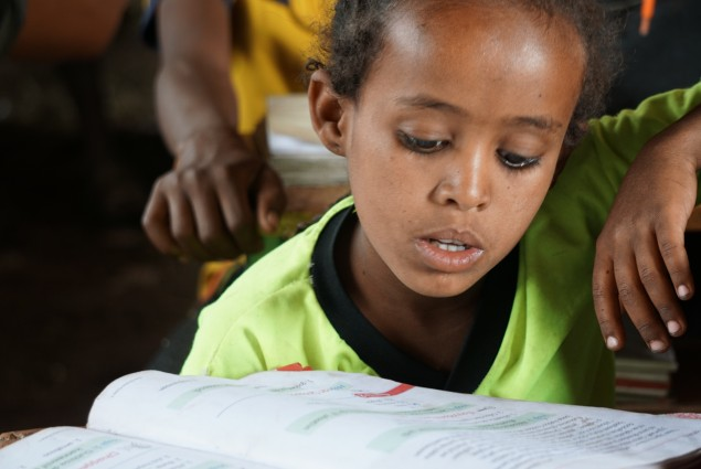 In December 2016, USAID completed the printing and delivery of critical scholastic materials for an estimated 2.8 million boys and girls throughout Ethiopia. USAID's efforts were aimed at protecting vulnerable children's right to education, following one of the worst droughts in Ethiopia in more than 50 years.