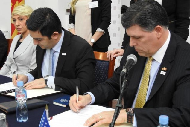 USAID Business Ecosystem Project MoU signing ceremony with the Ministry of Economy