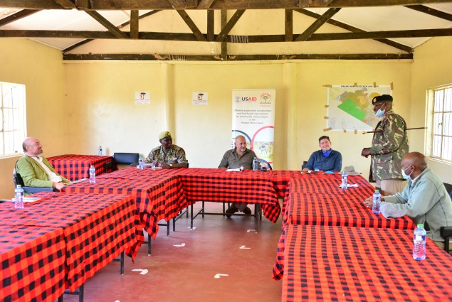 In Massai Mara, Acting Administrator Barsa joined community conservation leaders from Kenya Conservancies and Mara Conservancies to learn more about their conservancy model. The U.S. continues to support the community conservation model in critical landscapes in Kenya.