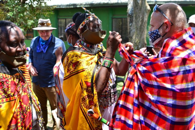 USAID is partnering with Mara Conservancies to address the historical disenfranchisement of women in Maasai Mara and create space for women in conservation. Acting Administrator Barsa joined Mara Women's Forum leaders to discuss how USAID is advancing women's development in the Mara.