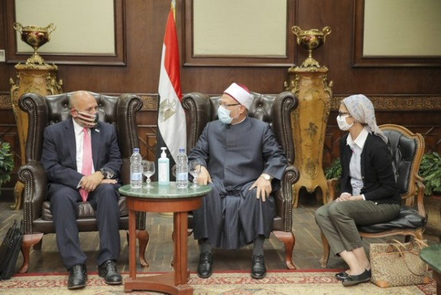 Acting Administrator Barsa met with the Grand Mufti of Dar al-Iftaa to discuss USAID promotion of international religious freedom, religious pluralism in Egypt, and better understand how Egyptian gov and religious institutions are addressing sectarianism.