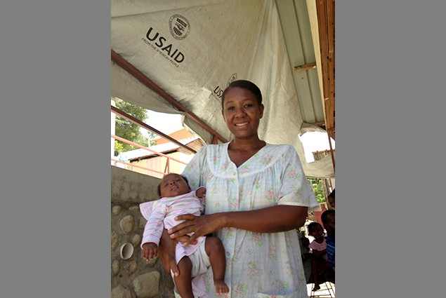 "Resident Yvette Etienne's message to USAID (OFDA): ""It was an extraordinary job that was done. Thank you, thank you, thank you v"