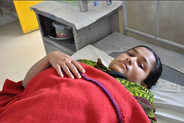 Hosnera, a housewife, who experienced two stillbirths, has one child.