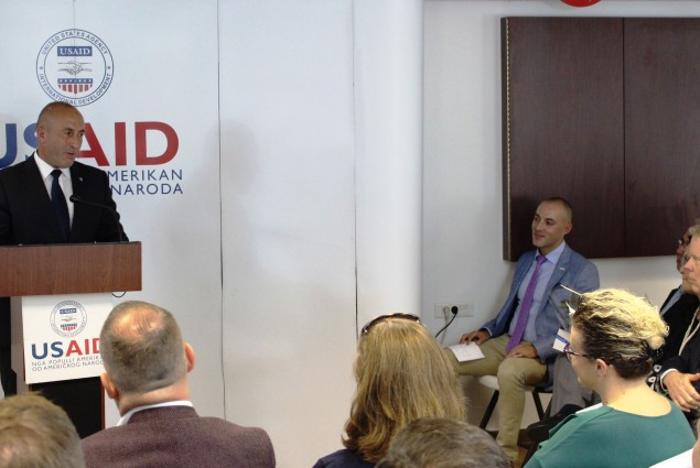 Prime Minister Haradinaj speaks about USAID's role in Kosovo