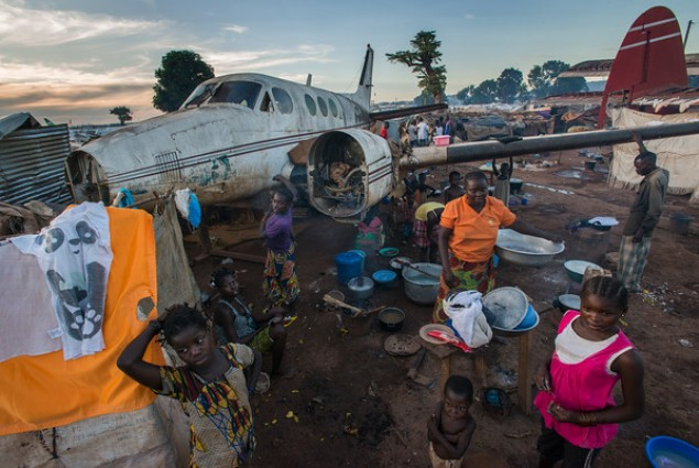 In early 2014, approximately 70,000 people flocked to M'Poko International Airport in CAR in search of shelter from violence.