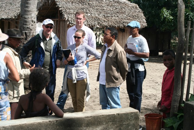 Senior Water Advisor Amanda Robertson visited Madagascar from July 14-25 to review Madagascar's water sector