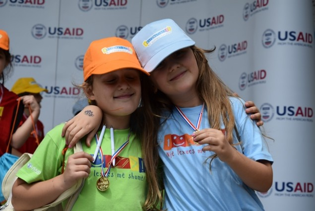 USAID Readers are Leaders Project Olympic Games