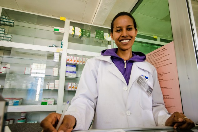 Through capacity building efforts of the USAID-funded Systems for Improved Access to Pharmaceuticals and Services, the pharmacy practice in Ethiopia is shifting from being commodity-centered to patient-centered. This has empowered the pharmacists to be active members of the health care team and contribute to better health outcomes.