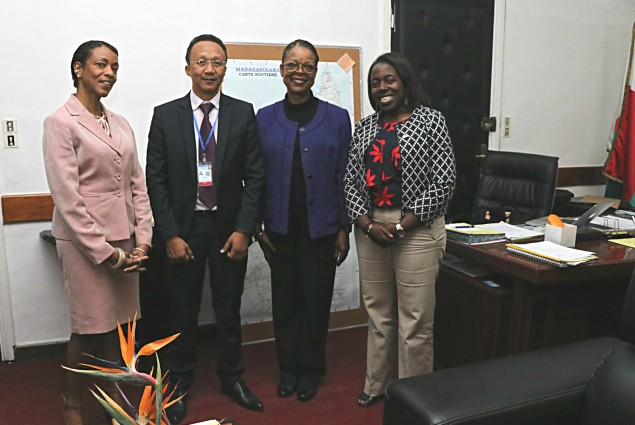 USAID's S/DAA called on the Secretary General of the Ministry of Health