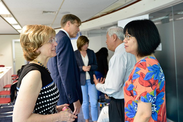 Inspiring discussion today about portfolios focusing on HIV/AIDS, oceans plastics recycling, and disability programming with #Vietnam civil-society organizations. @USAID values your leadership & we share your priorities, working to achieve greater development outcomes.