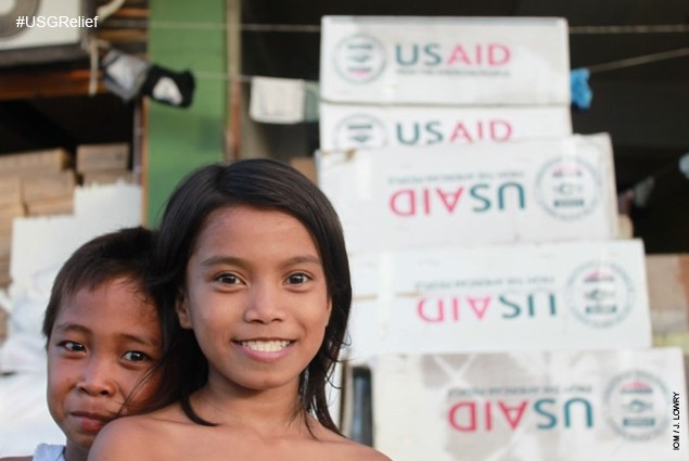 The United States is providing more than $47 million in humanitarian aid to help the people of the Philippines
