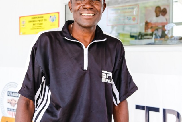 A new client, Jeremiah Ita travels from Angola to the Oshikango DOT point to receive TB and HIV treatment.