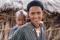 Mother and baby. (Neighbor of Gebiyanesh Ambaw).