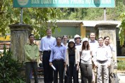 USAID delegation visits Phu Ninh Protection Forest in Quang Nam.