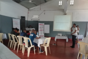 Private sector company SOPHARMAD was involved in the training