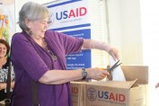 The U.S. Government provides food aid to clinics