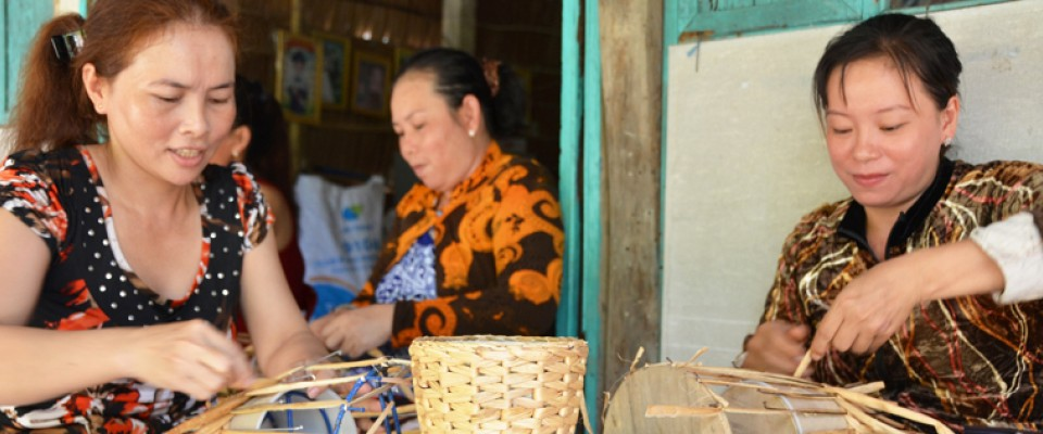 USAID-supported Microfinance Project Assists Economically Disadvantaged Women in the Mekong Delta of Vietnam