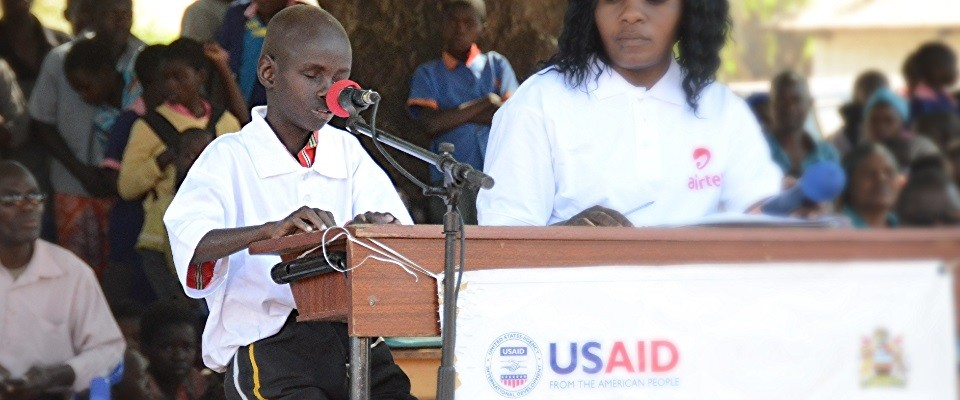 USAID - Malawi - Education - Braille Cup - Braille - Learners