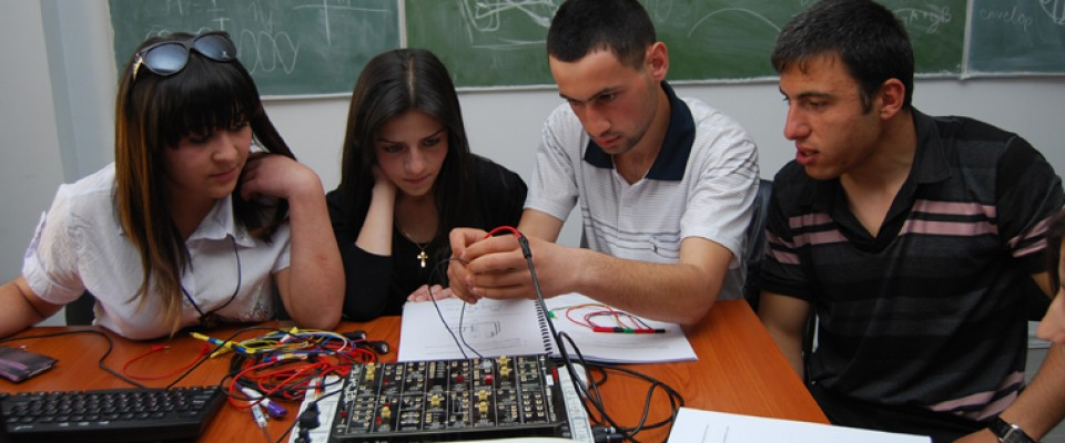 USAID helps unleash the potential of Armenian tech students through training and research opportunities to prepare them for loca