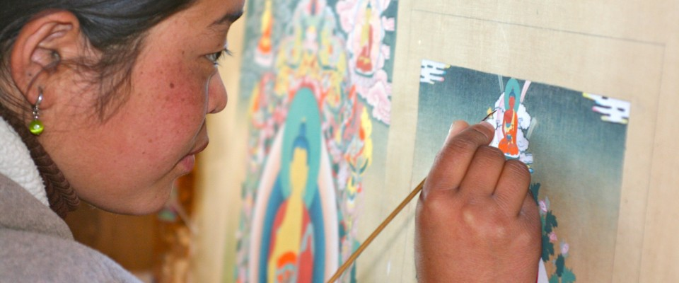 USAID supports the preservation of Tibetan culture.