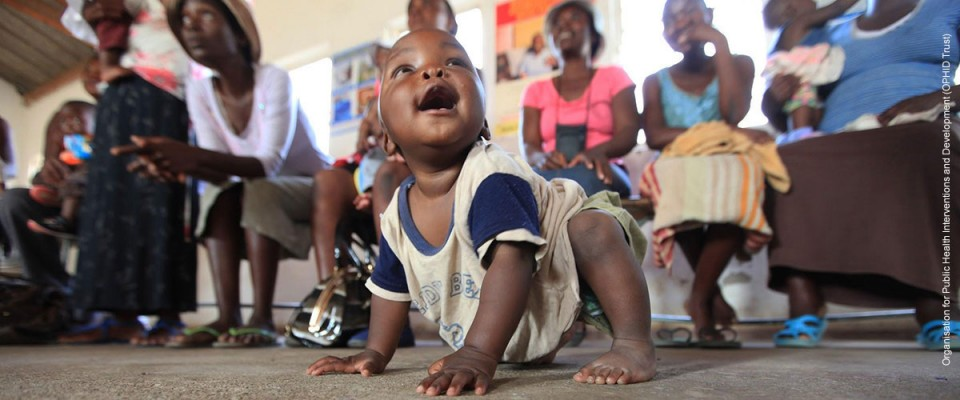 In Zimbabwe babies like Takunda, who are born to HIV-positive mothers, are free of the virus.