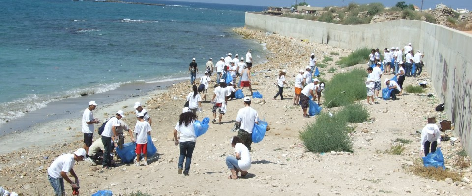 USAID programs in Lebanon help to raise environmental awareness.