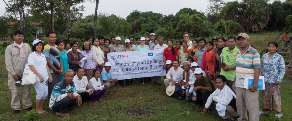 Our Mission Director, Polly Dunford traveled to Kratie town and the Prey Lang Wildlife Sanctuary.