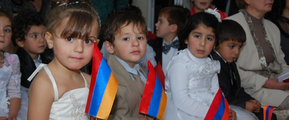 Through USAID and partner efforts, many rural communities of Armenia now provide better schooling conditions for Armenian childr
