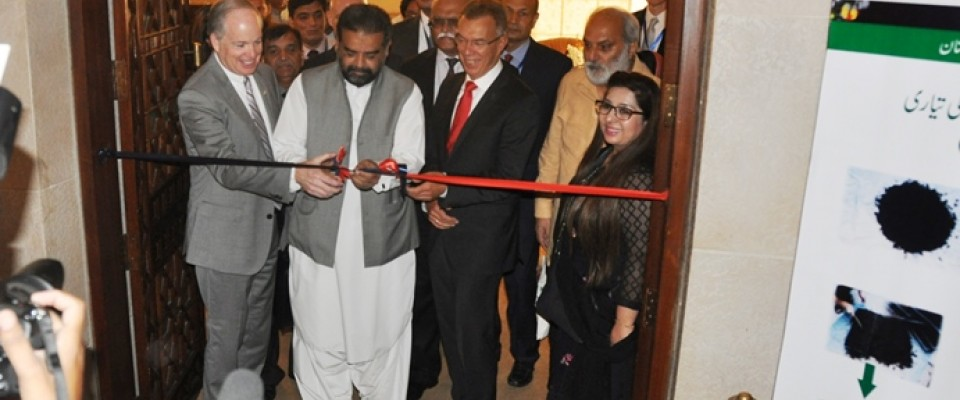 USAID Mission Director John Groarke commended new breakthroughs in Pakistan's agricultural sector