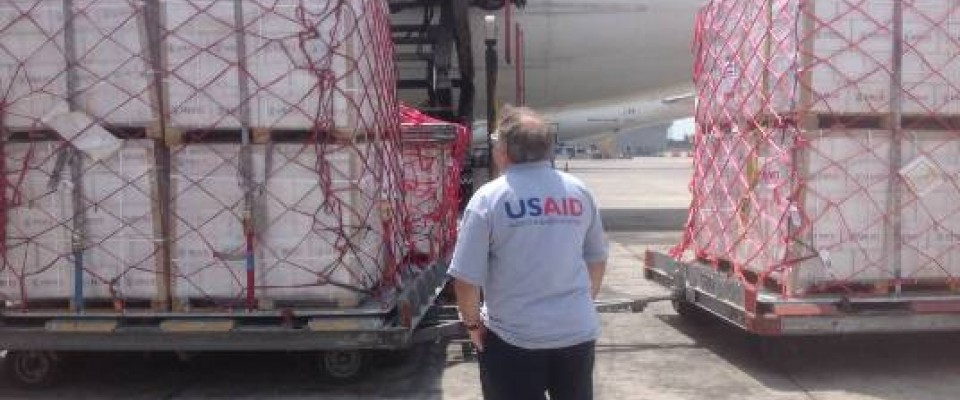 USAID Humanitarian Supplies for Gaza