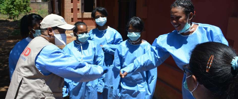 USAID-trained hygienists are now working in plague treatment hospitals