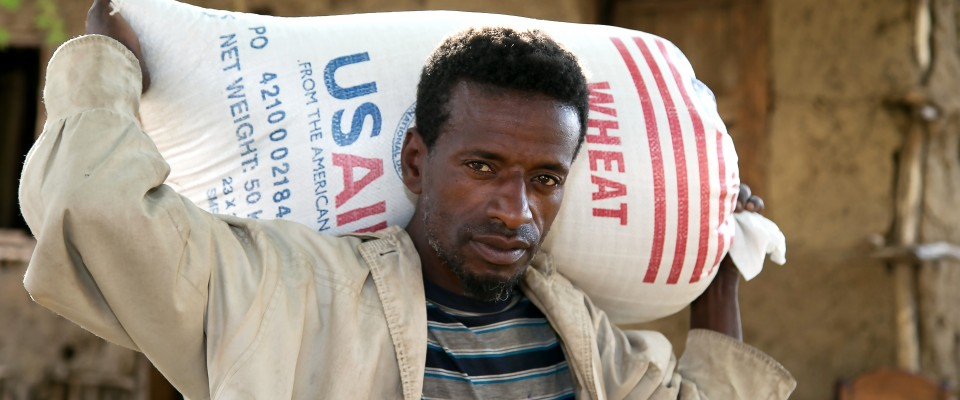 The Catholic Relief Services-led Joint Emergency Operation is providing relief food assistance for 2.6 million people in Amhara